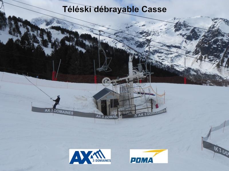 Téléski débrayable (TKD) Casse    Tk-cas10