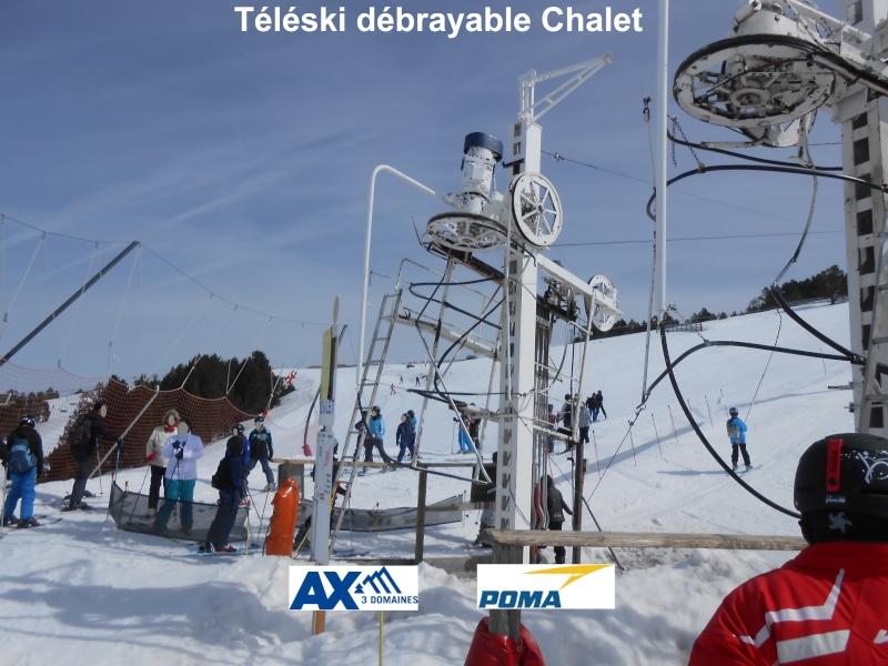 Téléski débrayable (TKD) Chalet Tk-cha12