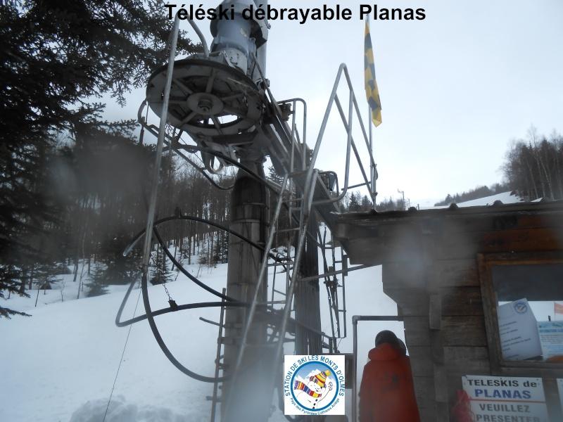 Téléski débrayable (TKD1) Planas Tkd-pl10