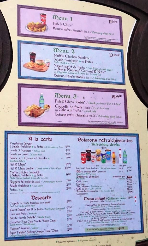 Les cartes des restaurants (Mise à jour 2015 page 3) - Page 2 Dsc02711