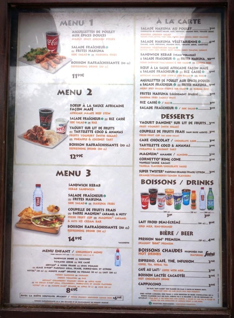 Les cartes des restaurants (Mise à jour 2015 page 3) - Page 2 Dsc02812