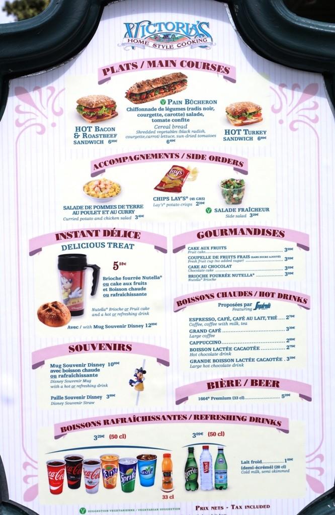 Les cartes des restaurants (Mise à jour 2015 page 3) - Page 2 Dsc02813