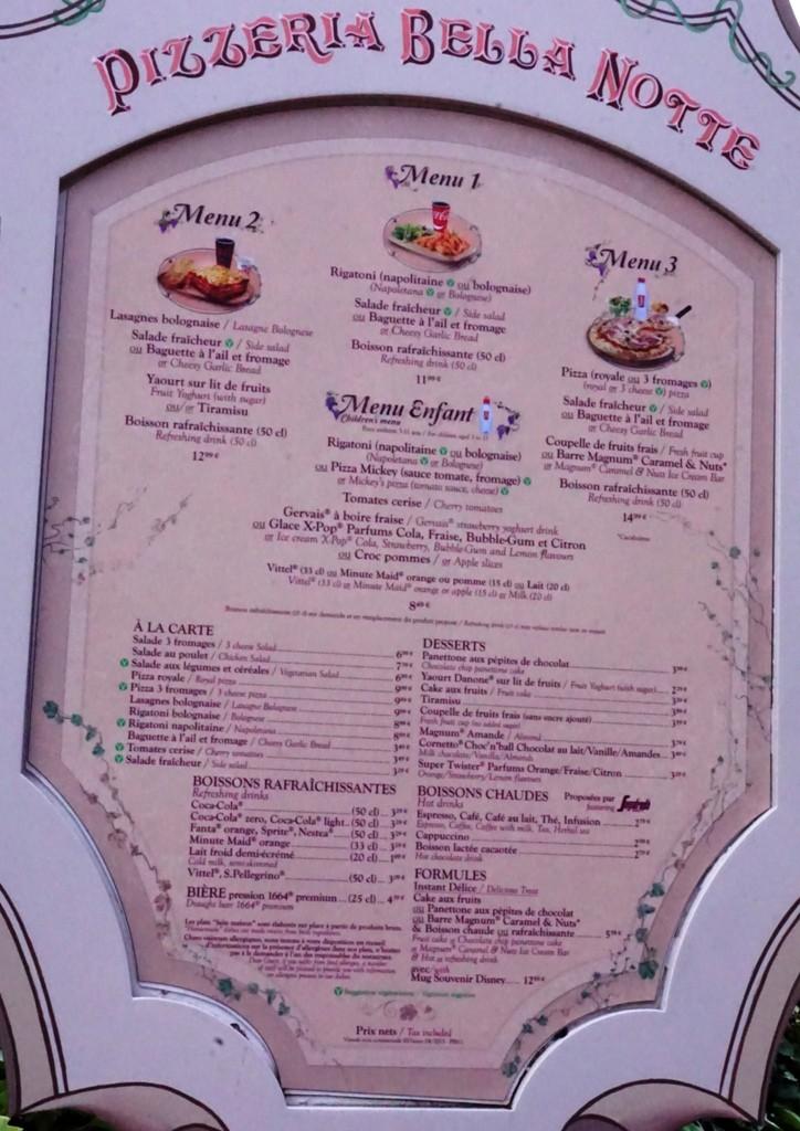 Les cartes des restaurants (Mise à jour 2015 page 3) - Page 2 Dsc02814
