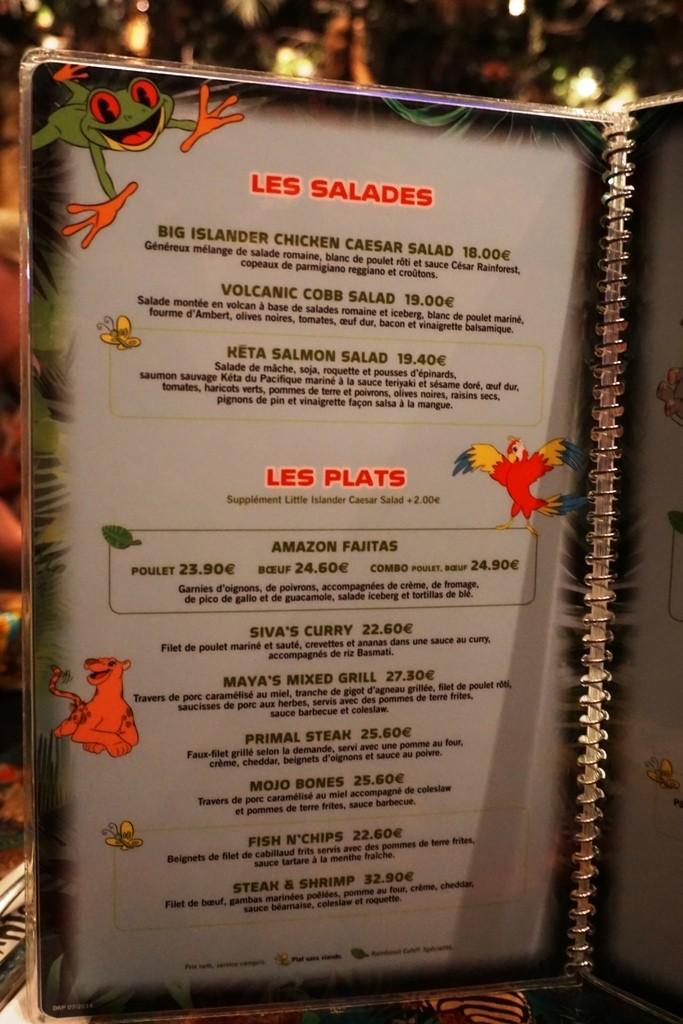 Les cartes des restaurants (Mise à jour 2015 page 3) - Page 2 Dsc02911