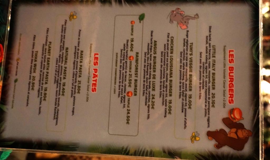 Les cartes des restaurants (Mise à jour 2015 page 3) - Page 2 Dsc02912