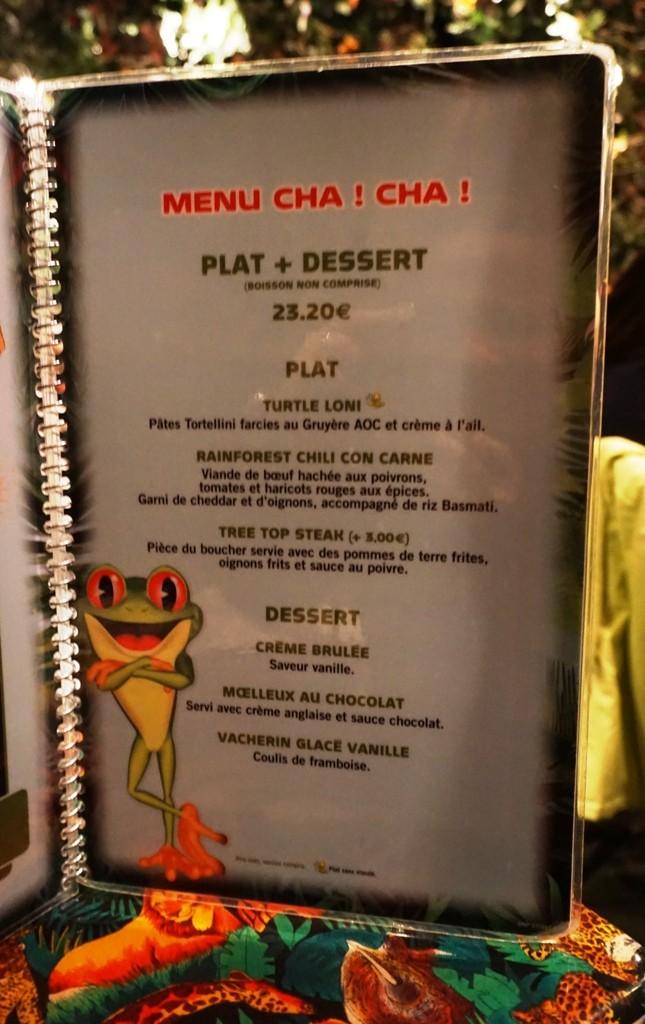 Les cartes des restaurants (Mise à jour 2015 page 3) - Page 2 Dsc02914