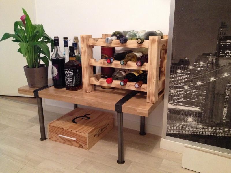 Après le séchoir à saucisson voici le meuble à bouteille  Img_0110