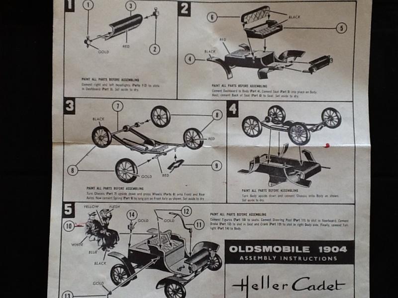 OLDSMOBILE 1904 1/32ème (?) Ref Heller12