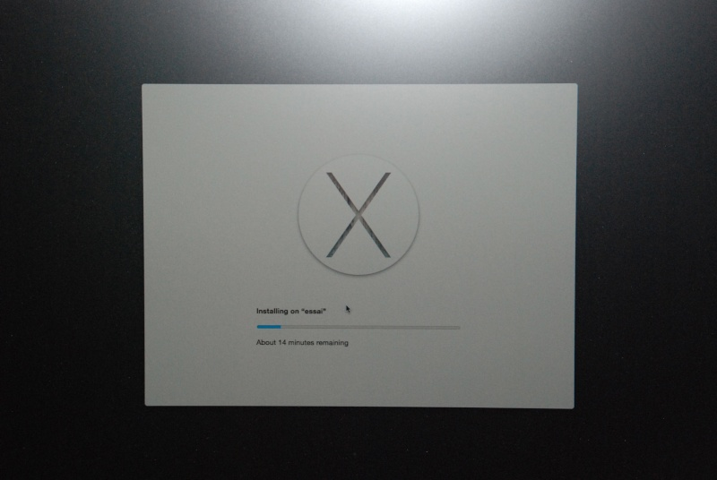OS X Yosemite Recovery Partition 211