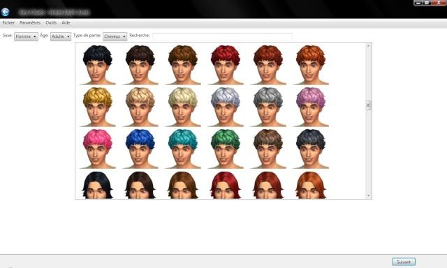 [Débutant] Sims 4 Studio : conversion d'une coiffure du jeu d'un sexe à l'autre.  310