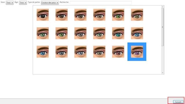 [Débutant] Créer des yeux personnalisés et par défaut 311