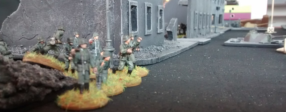 16. April 1945 - Angriff der Roten Armee auf Berlin-Mönchberg Marzah20