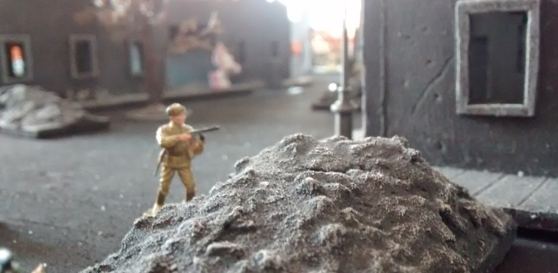 16. April 1945 - Angriff der Roten Armee auf Berlin-Mönchberg Marzah55