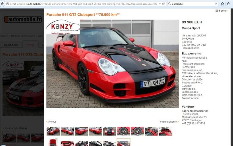 [automobile.fr] ROUGE 2001 76900km 129900€ 10