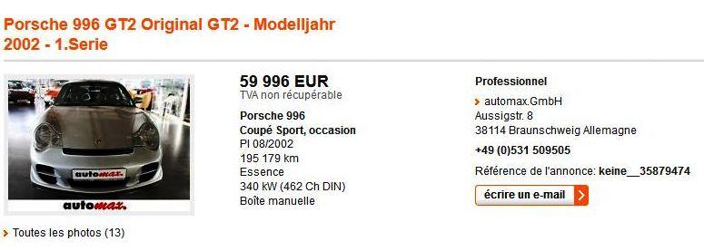 [automobile.fr] GRIS 2002 195179km 59996€ Grisee10