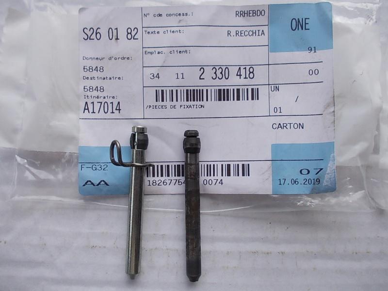 Axe de plaquettes pour étrier BREMBO R100R Frein_10