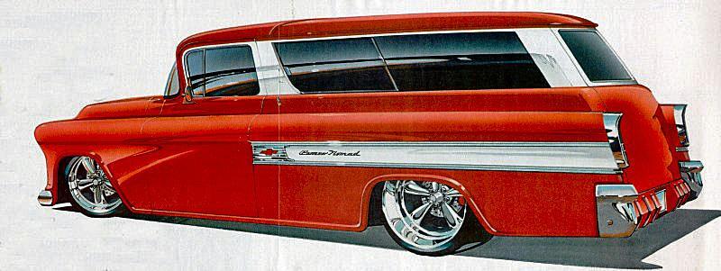 Jimmy Flintstone '55 - '57 Chevy Suburban 57burb10