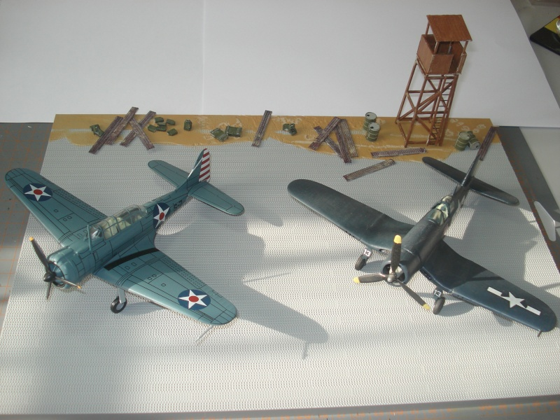 [italeri] diorama base aérienne 2e GM pacifique Dsc04510