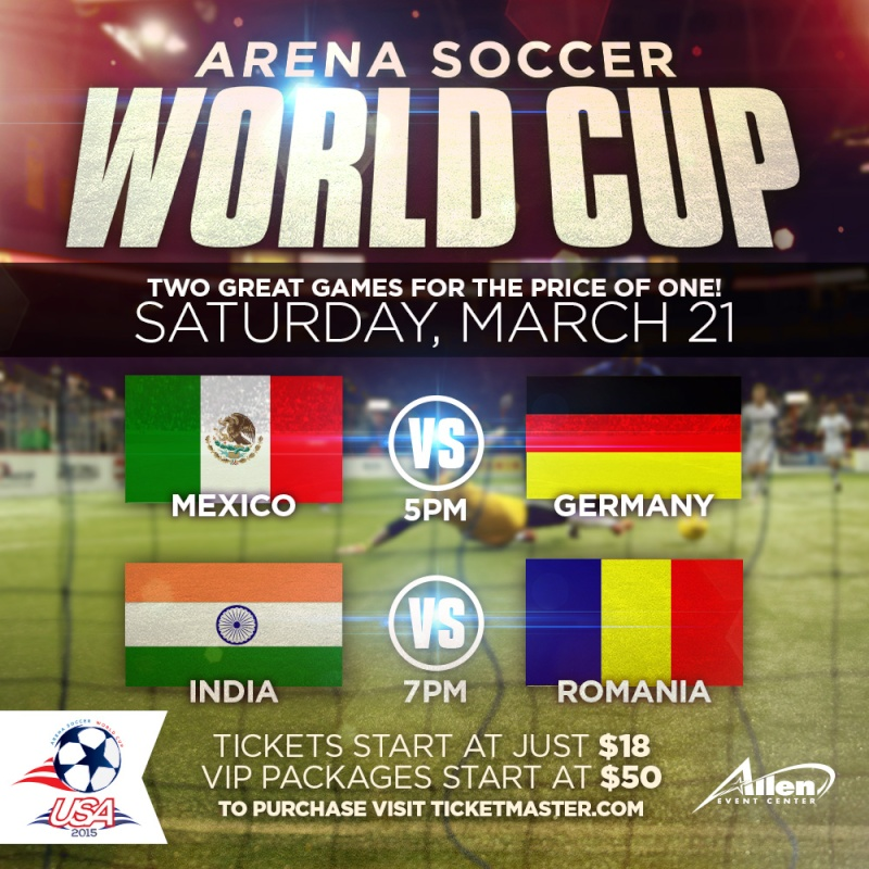 2015 Arena Soccer World Cup Worldc11