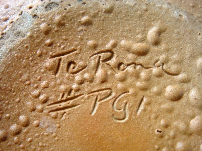 Horrid old warty Te Rona salt pig !! Dsc05515