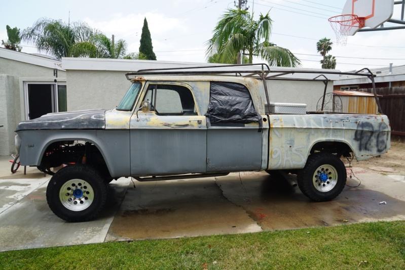 For Sale 1971 Dodge D200 Crew Cab Dsc02411