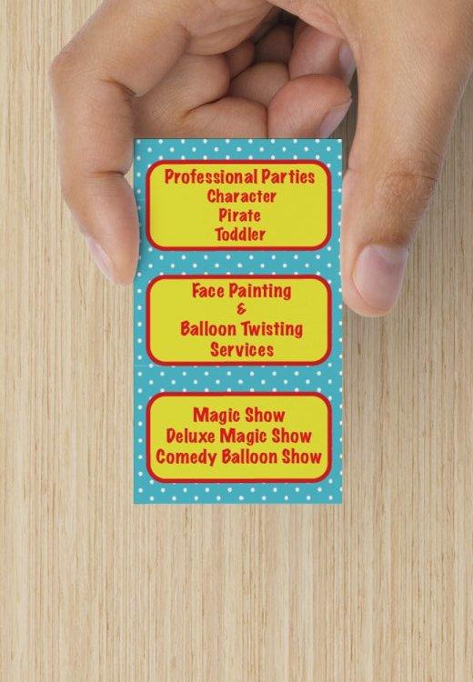 Show us your Business Card Lp_asp15