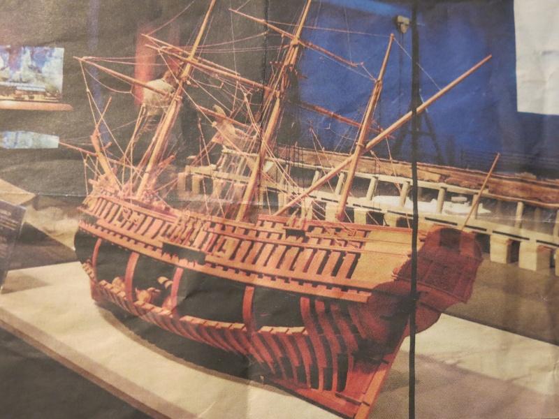 HMAV Bounty de Del prado au 1/48ème - Page 7 La_00110