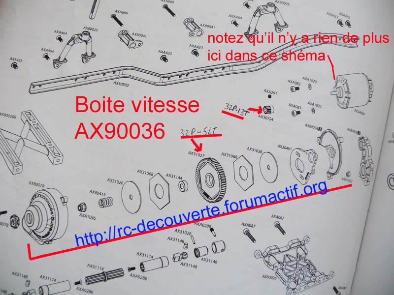 Découvrir les boites de transmission Axial et problème de refroidissement et fixation de moteur sur la boite de transmission de Axial SCX10 et Wraith 2-boit10