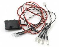 Fabriquer éclairage Led pour Scx10 et Scale Trial : feux avant, feux arrière, spot de toit, clignotants, gyrophares et feux de recul Pas Cher 2-kit-10