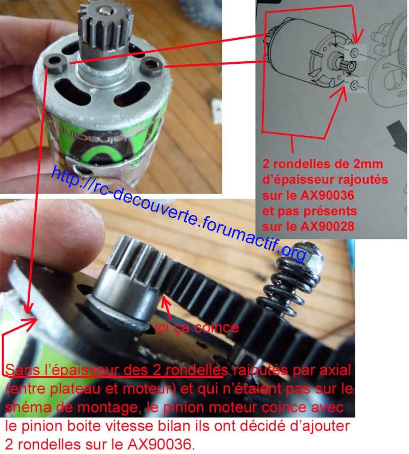 Découvrir les boites de transmission Axial et problème de refroidissement et fixation de moteur sur la boite de transmission de Axial SCX10 et Wraith 3-boit10