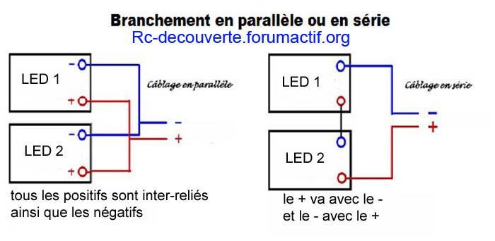 Fabriquer éclairage Led pour Scx10 et Scale Trial : feux avant, feux arrière, spot de toit, clignotants, gyrophares et feux de recul Pas Cher 8b-ser11
