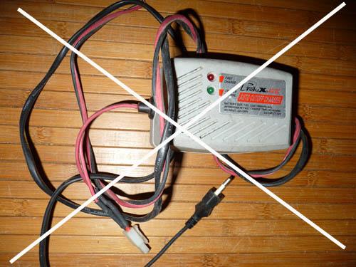 Choisir son chargeur de Batterie ou Accus pour débutants en Scale Trial 4x4 Franchisseur Off-road Charge10