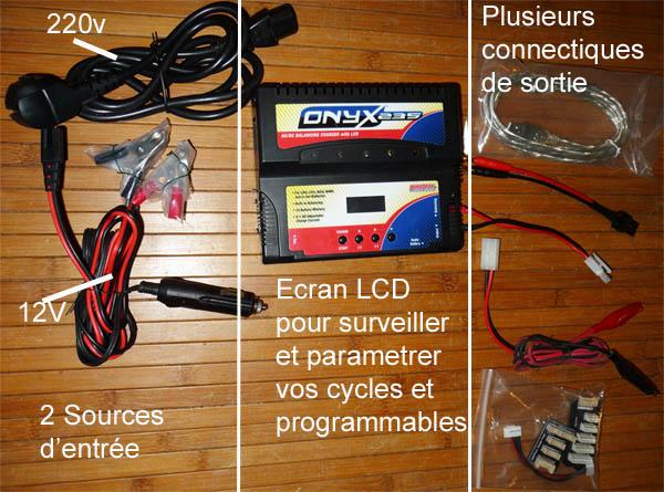 Choisir son chargeur de Batterie ou Accus pour débutants en Scale Trial 4x4 Franchisseur Off-road Charge11