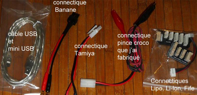 Choisir son chargeur de Batterie ou Accus pour débutants en Scale Trial 4x4 Franchisseur Off-road Connec10