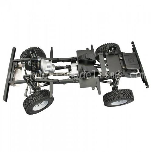 Qu'est ce que le Châssis SCX10 de la marque Axial échelle 1:10 tout terrain 4x4 électrique ? D90-la12