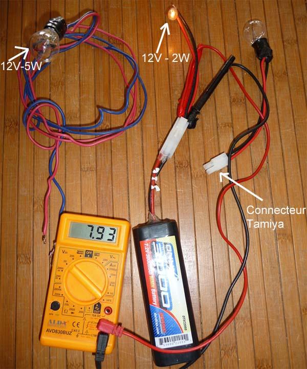 Choisir ses Accus ou Batteries Lipo ou Nimh pour débutants en Scale Trial 4x4 Off-road Dechar10