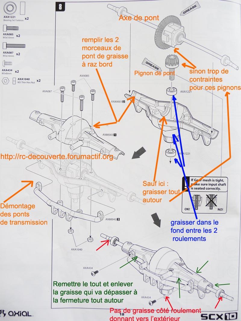 Comment et pourquoi graisser les ponts de transmission SCX10 et tout Scale Trial Graiss12