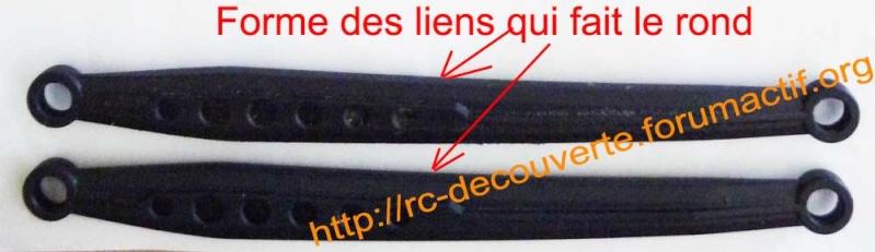 Remplacer les liens en plastique par des liens en métal de façon économique pour Scx10 et tout scale trial Liens-12