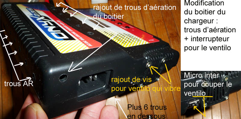 Choisir son chargeur de Batterie ou Accus pour débutants en Scale Trial 4x4 Franchisseur Off-road Modif-10