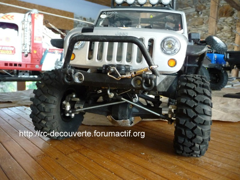 Fabriquer des protections de ponts de transmission en alu et protection de kit de bras de chassis en alu pour SCX10 et tout scale trial Protec18