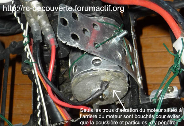 Quel moteur choisir : brushed, bruchless, nombre de T, RPM, rodage, étanchéité et refroidissement des moteurs de scx10 et Scale Trial Refroi13