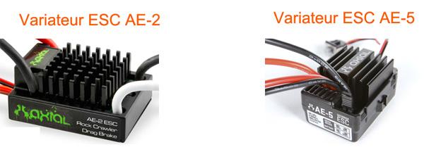 Découvrir les Variateurs ESC, étancher et optimiser le refroidissement de votre variateur d'origine et programmer son vario AE-2 et AE-5 pour SCX10 et tout scale Trial Variat10