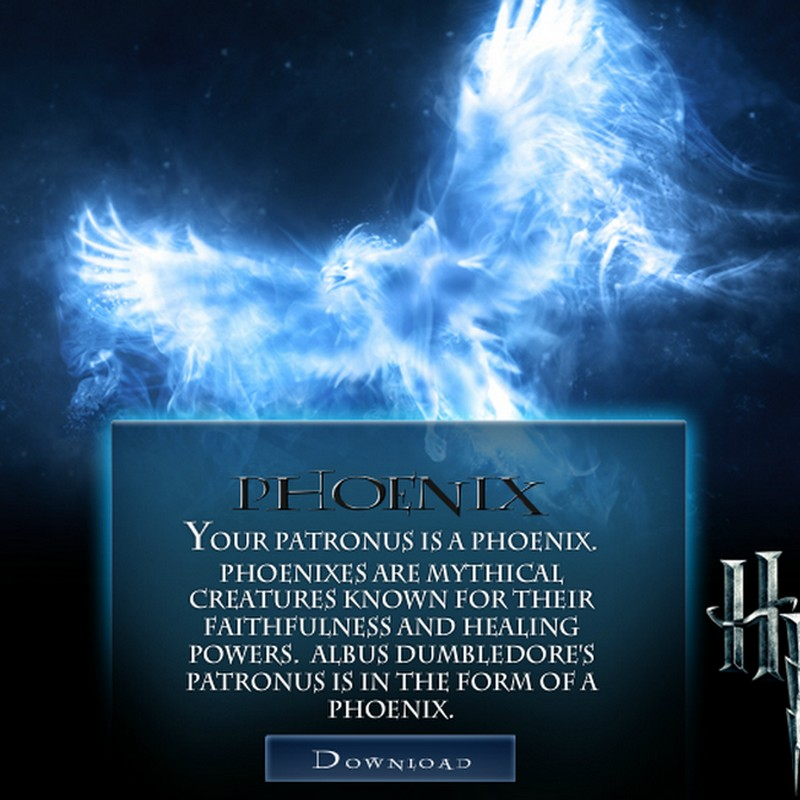 Maison et Patronus - Test Harry Potter. Formph10