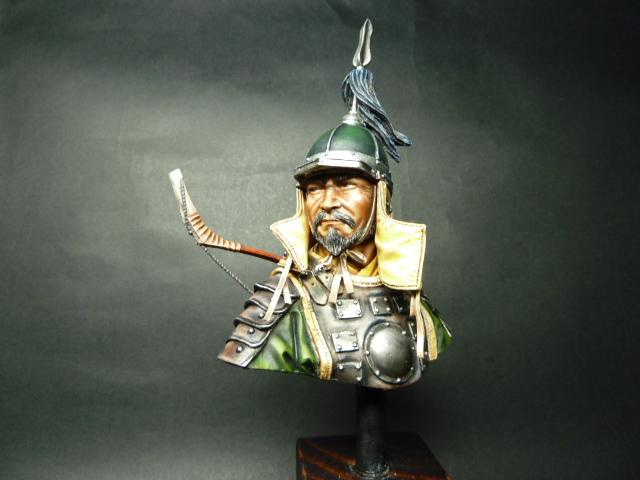 Buste Mongol , PEGASO 200mm 00112