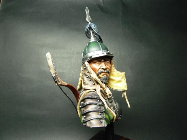 Buste Mongol , PEGASO 200mm 00210