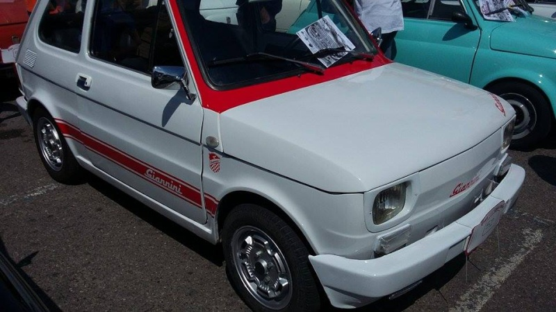 Raduno Fiat 500,derivate e auto Storiche italiane Palmi RC 24/05 1010