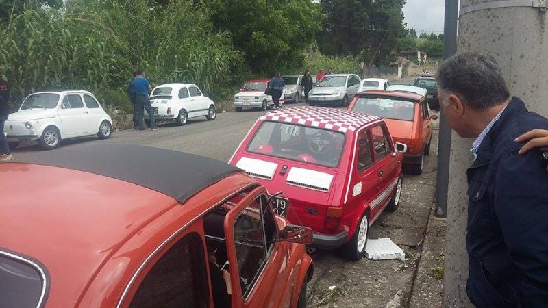 Raduno Fiat 500,derivate e auto Storiche italiane Palmi RC 24/05 1310