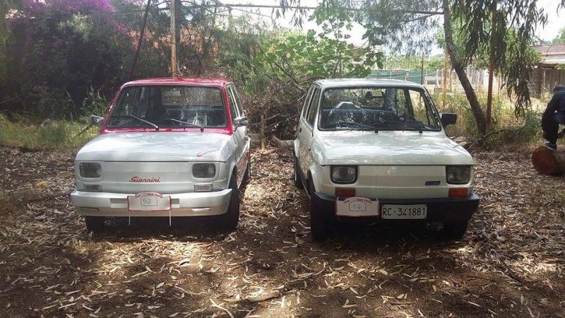 Raduno Fiat 500,derivate e auto Storiche italiane Palmi RC 24/05 1510