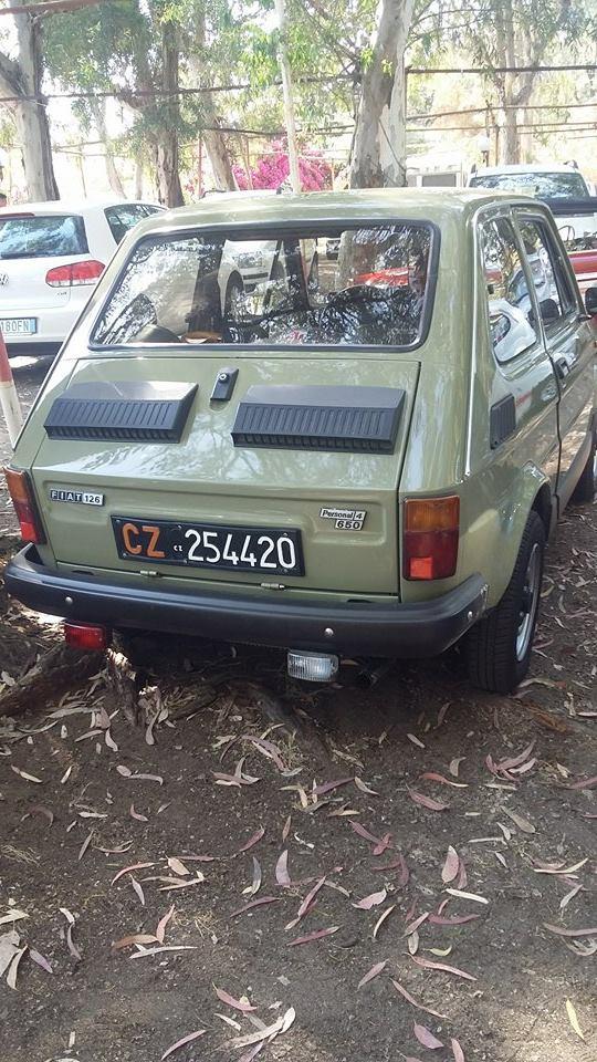 Raduno Fiat 500,derivate e auto Storiche italiane Palmi RC 24/05 2110