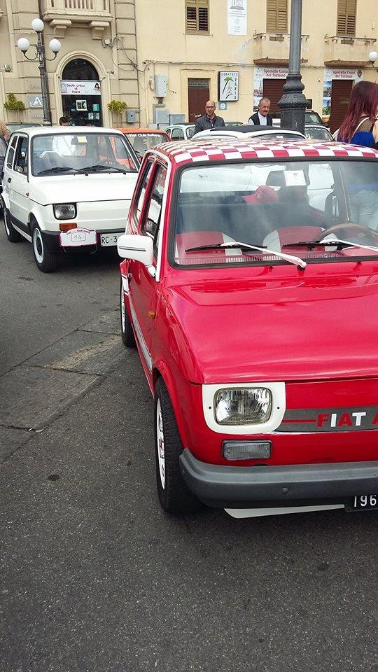 Raduno Fiat 500,derivate e auto Storiche italiane Palmi RC 24/05 310